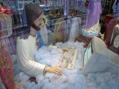 文房具のイエス像