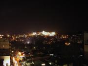 夜のSM Baguio遠景
